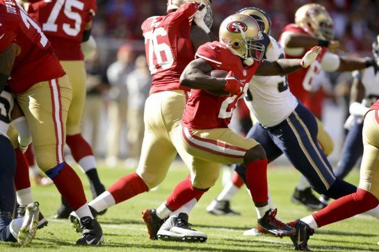 San Francisco 49ers News — Niner Insider Blog » Rams-49ers: First half film review nuggets