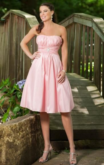 UK Pink Bridesmaid Dress