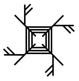 Наводит на человека состояние, в котором он сам начинает крушить все, что создал и накопил, рвать отношения и разрушать свою жизнь. Рабочие «огненные» руны норвежского строя: Золото, Язва, Тис (учетверенные). Второй вариант включает по три Тиса на каждой ветке и визуально напоминает кельтский крест Бригитты. Эклектика, конечно, но забавное совпадение в том, что крест Бригитты …