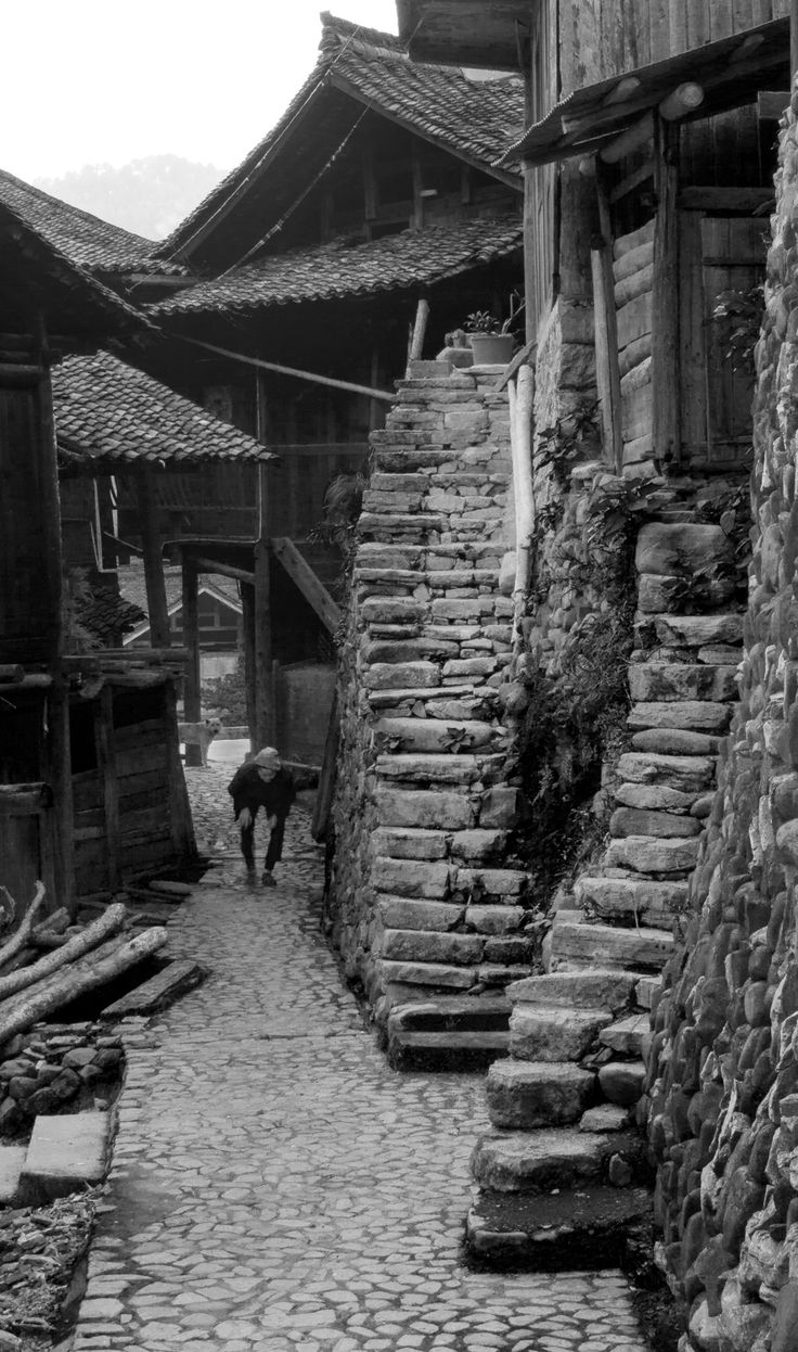toursabroadchina: Stairways. Guizhou, China.