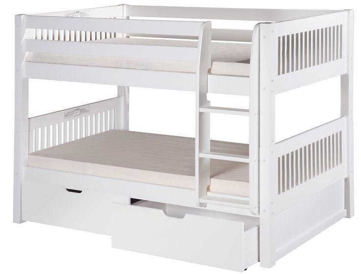 found it at wayfair camaflexi twin bunk bed with storage kinderbettenniedrige etagenbettenhochbettenetagenbett fr kinderetagenbetten - Hausgemachte Etagenbetten Fr Mdchen