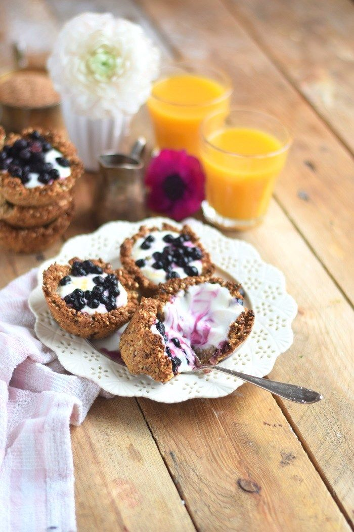 Granola Cups mit Joghurt - Granola Cups with yogurt and fruits (15)