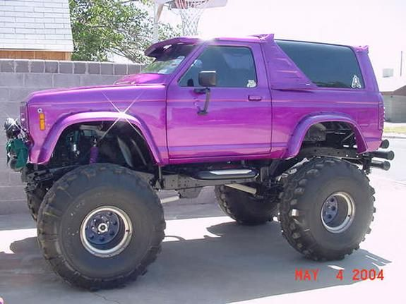 Image result for purple ford bronco