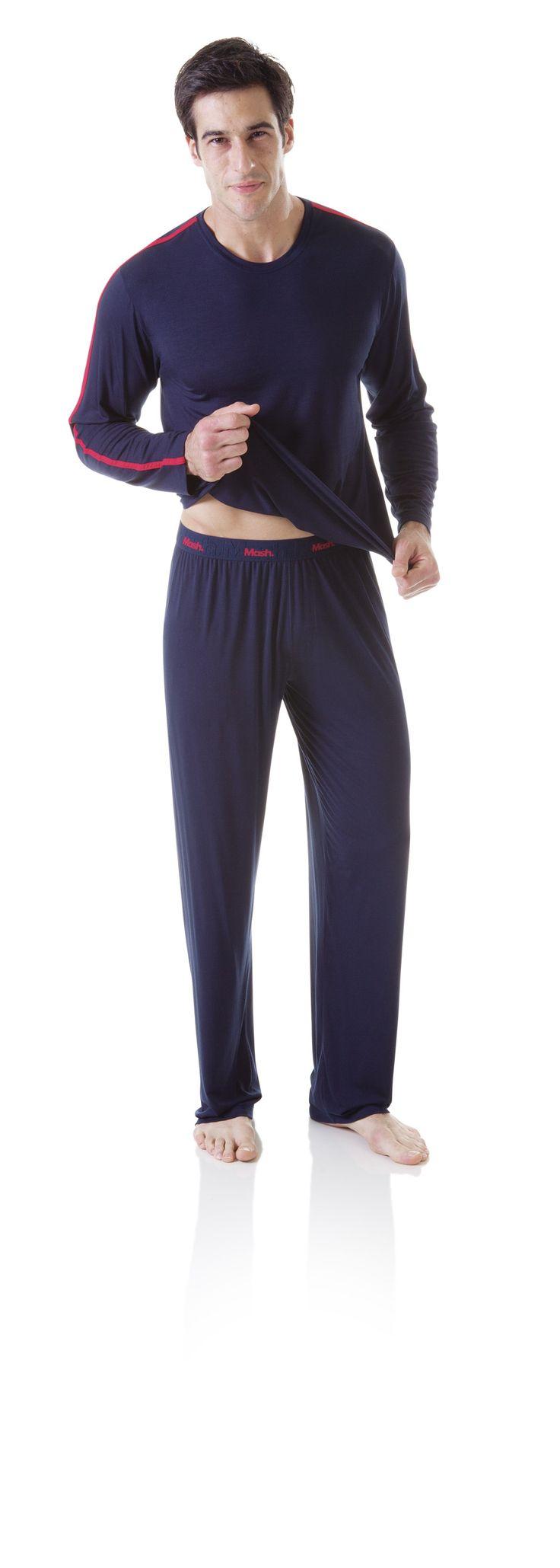 Pijama Masculino #produtos #uniclingerie  #mash #masculino #man #pijama #sleep #homem #frio #inverno #winter #cold