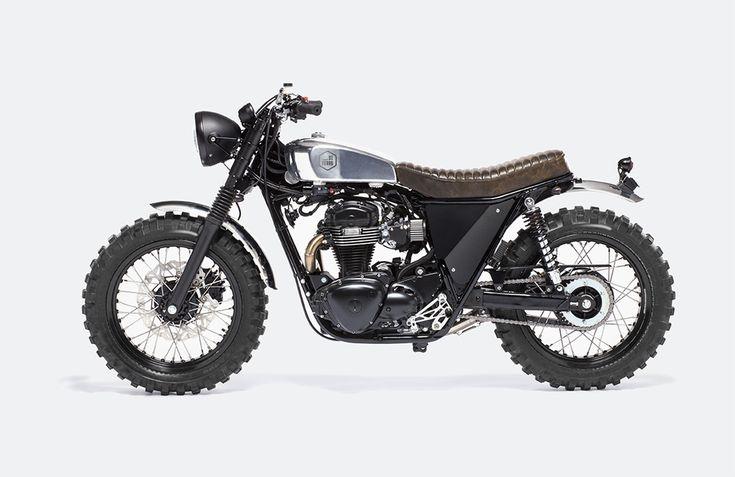 Cafe Racer Design   Moto Di Ferro Scrambler