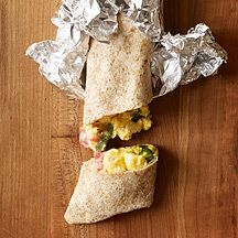 WW Mexican Breakfast Burritos... make ahead, refrigerate, and heat 15 minutes in oven to have healthy breakfast all week!