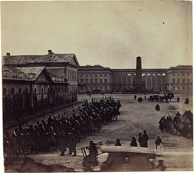 Saxon Palace, 1861