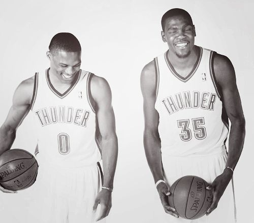 russell westbrook kevin durant kd okc thunder