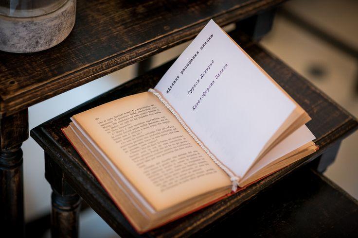Tableau mariage for the wedding reception. Book Theme / Идея оформления рассадки для гостей на книжную тему
