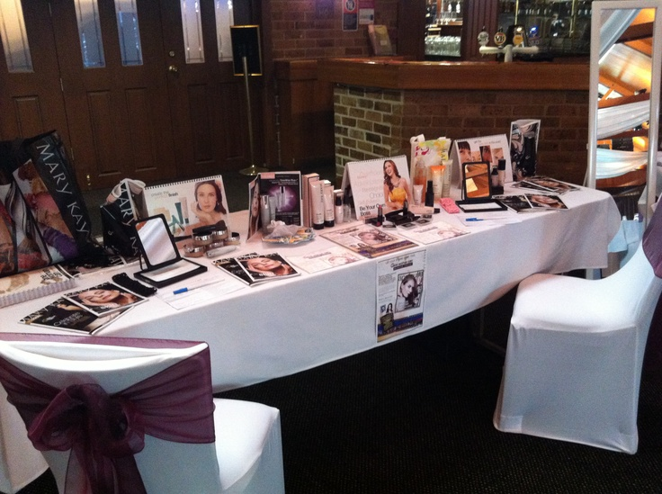 """My Mary Kay Set Up at The WOW- Women Out West, 18th Birthday Awards/Dinner & Pamper Experience In Dubbo, NSW Australia! Xoxo #Support Your Local Small BusinessWomen"