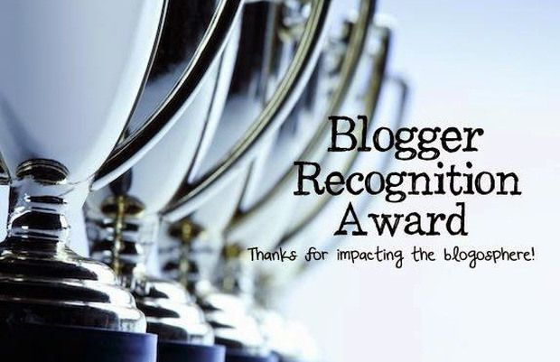 I was nominated for The Blogger Recognition Award by Mary of In the Boondocks blog fame.