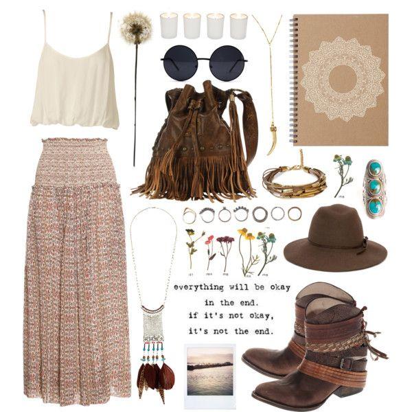 164 best u262e Bohemian Outfits u262e images on Pinterest | Boho fashion Bohemian outfit and Boho hippie