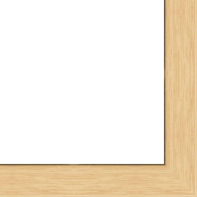 27x40 Flat Oak Wood Frame The Edge Thin Great For Posters Photos Art Prints Mirror Chalk Boards Cork Boards And Marke Wood Frame Solid Wood Oak Wood