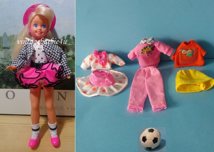 Mattel Stacie Doll Party' N Play 5411 NEW & Clothes Lot VG Barbie Skipper sister #Mattel #DollswithClothingAccessories