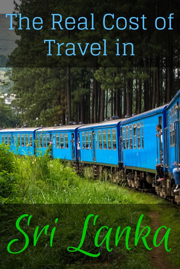 The real cost of travel in Sri Lanka: A cost breakdown of traveling in Sri Lanka, including food, accommodation, transportation, and activities.