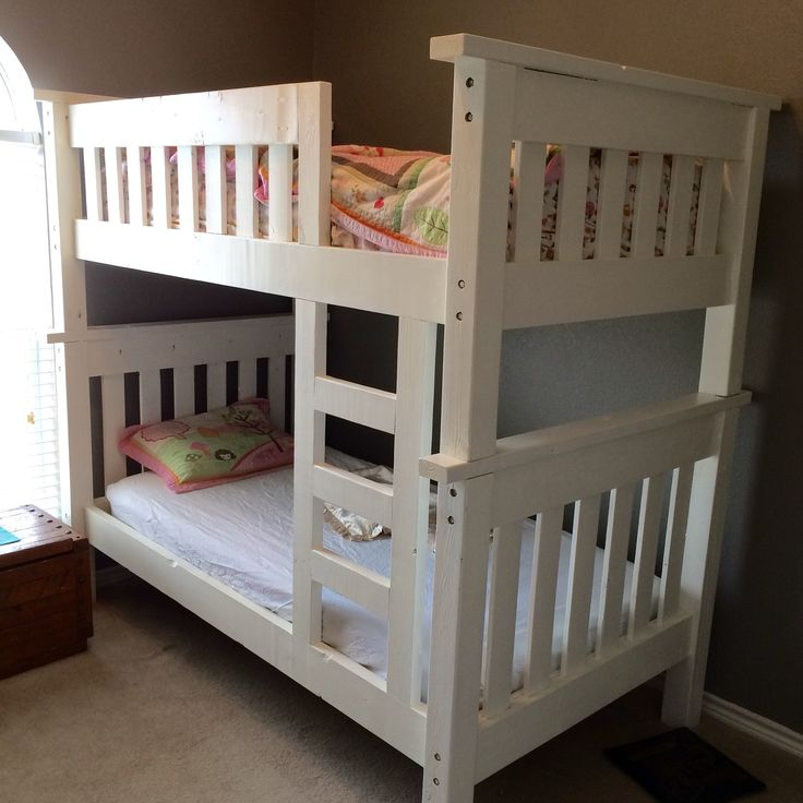 My Bunk Bed Build | Do It Yourself Home Projects from Ana White