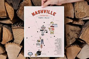 ABM x Madewell Nashville Map (free download!)