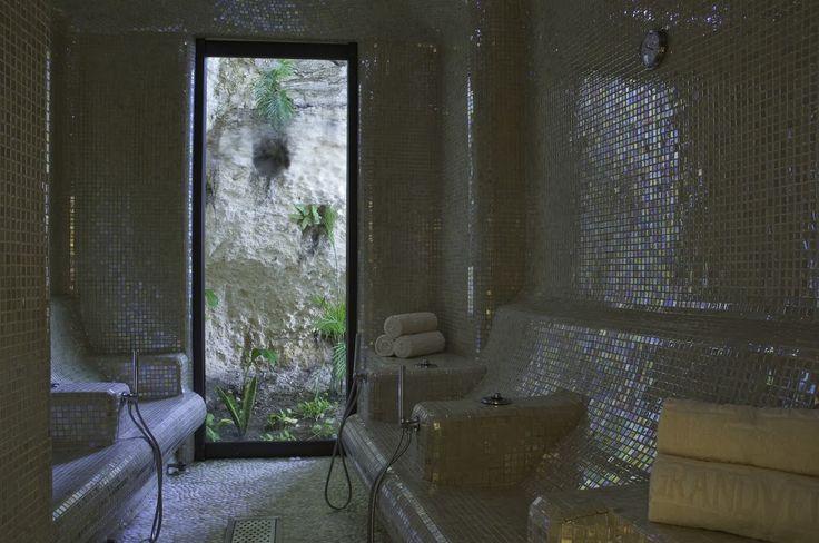 Ice room, Spa Grand Velas Riviera Maya.