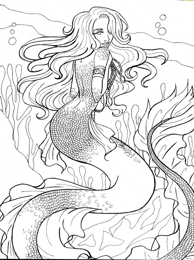 mermaid melody coloring pages | Coloring Pages of Epicness ... |Moon Mermaid Coloring Pages