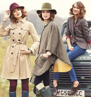 Love everything from the hats to the coats.