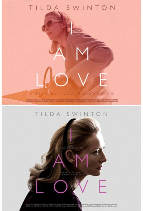 I am love / movie poster