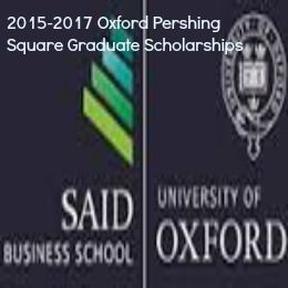 2015-2017 Oxford Pershing Square Graduate Scholarships in UK , and applications are submitted till 13 March 2015. Applications are invited for Pershing Square Scholarship to pursue Oxford 1+1 MBA programme.  See more at: http://www.scholarshipsbar.com/2015-2017-oxford-pershing-square-graduate-scholarships.html#sthash.zAYLMUj5.dpuf
