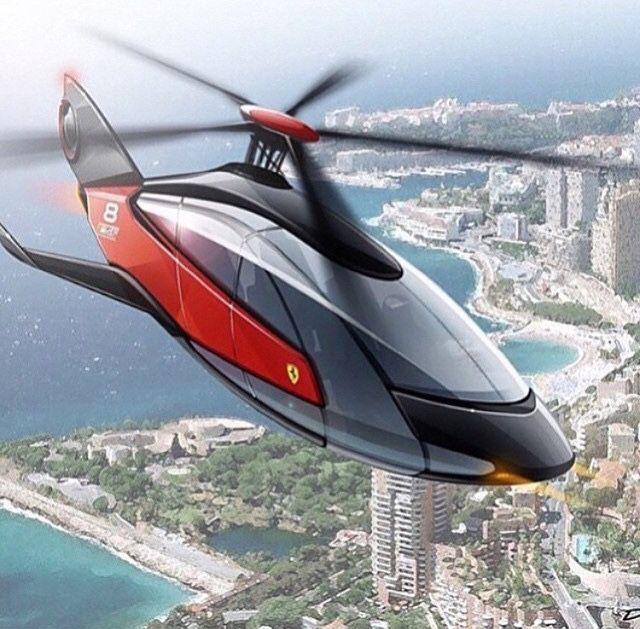 Helicóptero Ferrari ©©