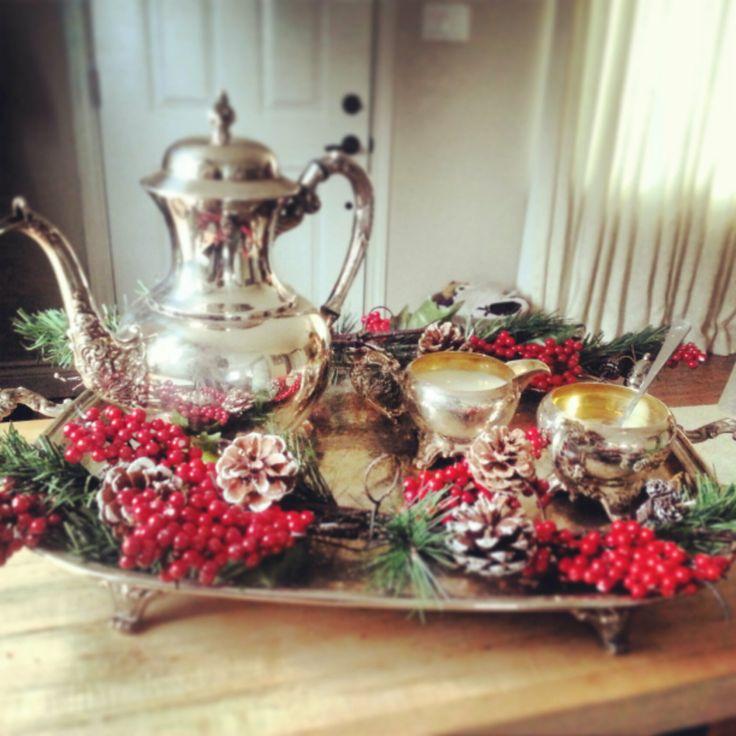 Holiday Vintage Silver Tea Set Www Kristinecarr Com Home