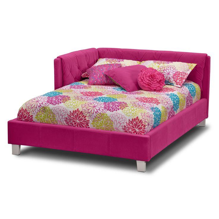 Jordan Full Corner Bed ~ $249.99 at americansignaturefurniture.com