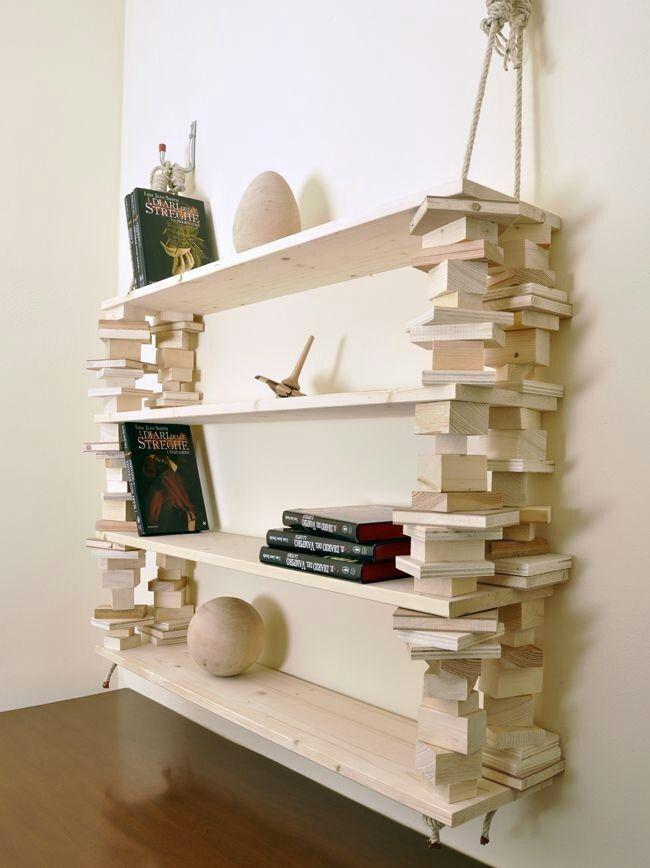 idee geniali libreria fai da te Handmade - Home & Kitchen - Furniture - handmade furniture - http://amzn.to/2ksLfE7