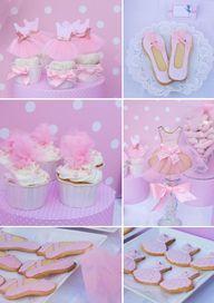 Pink ballerina party...