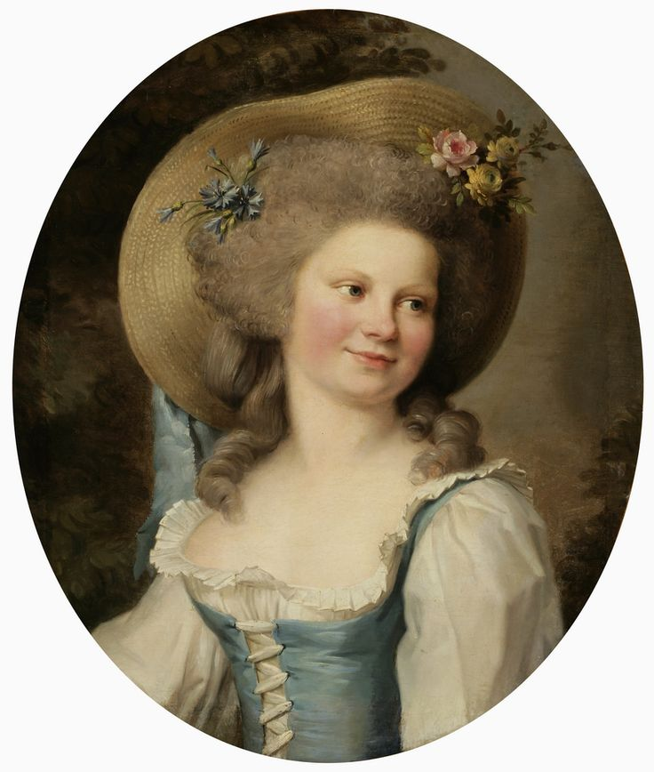 Adélaide Labille-Guiard (1749−1803), Mme Dugazon in the Role of Babet, oil on canvas / Finnish National Gallery /  Sinebrychoff Art Museum