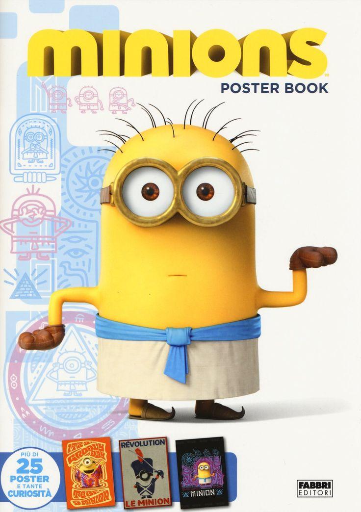 Vi siete già sbellicati dalle risate con il nuovissimo film dei matti #minions? In negozio trovi l'imperdibile libro dei poster!!!