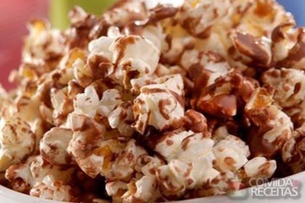 Receita de Pipoca doce - Comida e Receitas