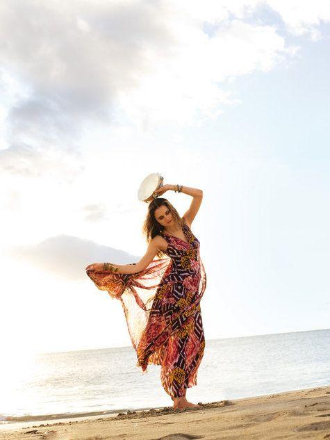 Burda Style Maxi Dress