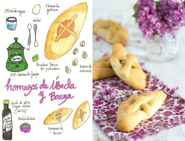HORNAZOS DE ÚBEDA Y BAEZA. ( Dulces)  Gastro Andalusi ♥ Recetas paso a paso