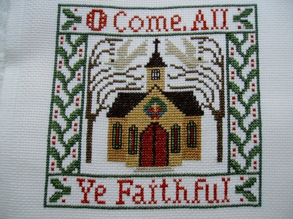 Prairie Schooler cross-stitch Songs of the Season.