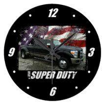 2013 F-350 Super Duty King Ranch Dually 4x4 Large Clock