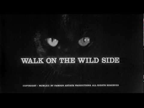 Saul Bass title sequence - Walk on the Wild Side (1962)