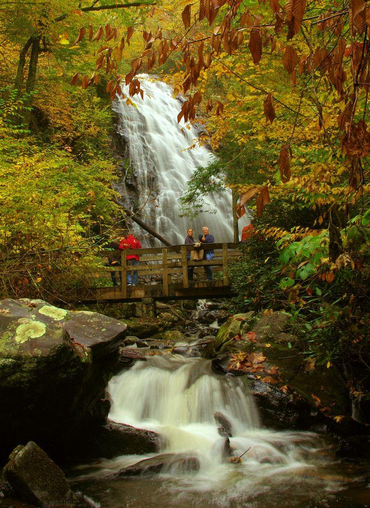 Top 12 Waterfalls along the Blue Ridge Parkway: http://www.romanticasheville.com/blue_ridge_parkway_waterfalls.htm