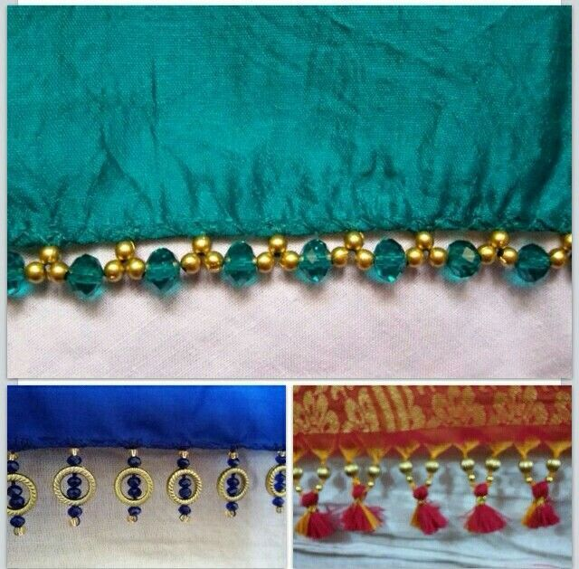 tassels for saree - Google Search