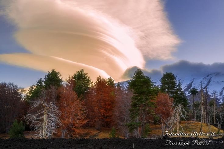 Clouds on the Etna volcano. by Fotonaturalistica.it