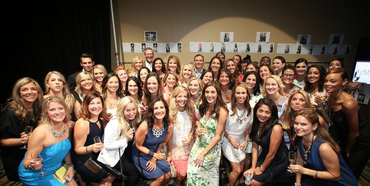 Backstage at the Fashion Show with CEO & Founder Jessica Herrin! #SDJoy #SDHoopla