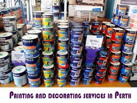 Professional painting and decorating services in Perth