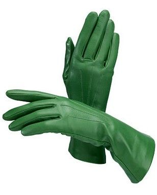 ♥ ⋱‿ ❤AnE LeeLA....Ladies Classic Silk Lined Leather Gloves / Aspinal of London