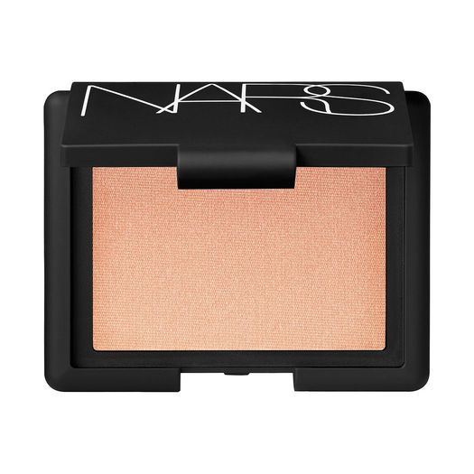 Nars blush - Hot Sand, beautiful pink highlight!