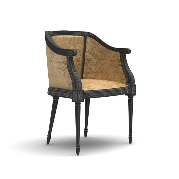 Armchair-3DsMax+VRay