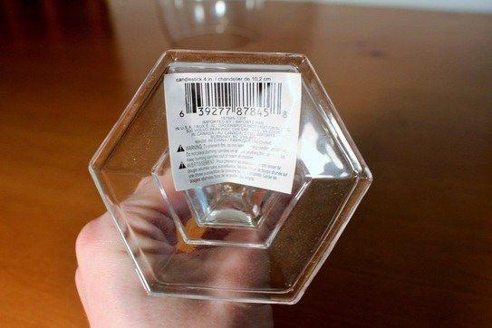 Aufkleber von Glas entfernen