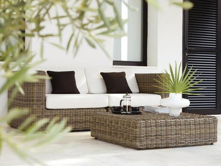 Prachtige lounge-set... Ik zie mezelf al helemaal zitten! :-)