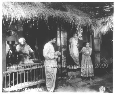 Achhut Kanya (1936) The film deals with the social position of Dalit girls and is considered a reformist period-piece. Music is by Saraswati Devi and lyrics by J.S. Kashyap. The movie stars Ashok Kumar (cast after the original hero had eloped with the producer's wife and leading lady) and Devika Rani (the producer's wife who decided to come back) in the lead roles.